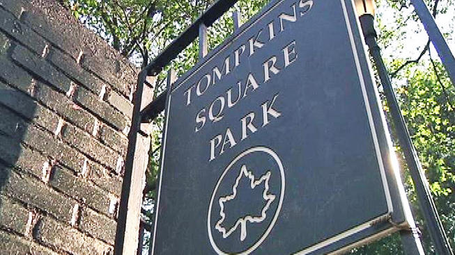 Tompkins Square Park East Village