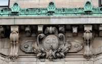 Classical Architecture on Bowery Savings Bank