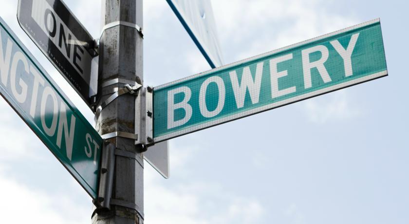 Bowery Street East Village