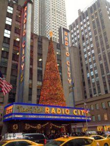 New Year Celebration Decor in East Village New York