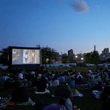 Outdoor Movie Night in Randall's Island Park