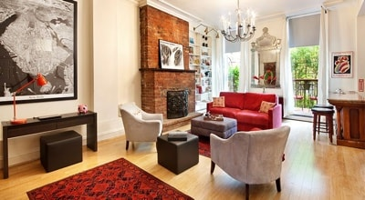 Living Room Apartment Rentals NYC