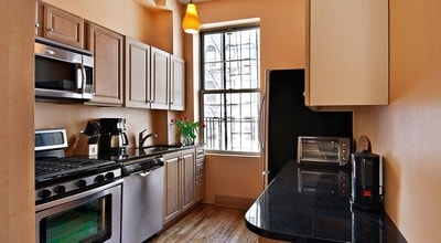 Modern Style Kitchen SOL Apartment NYC