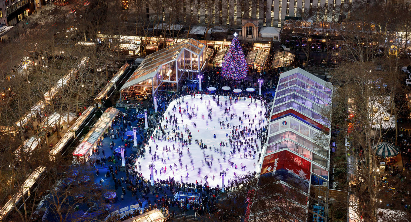 Check out the famous holiday markets of NYC