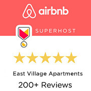 East Village Apartments By Sudha on AirBnB